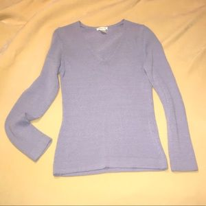 Sweaters - Purple v neck Harolds sweater (s) 💜
